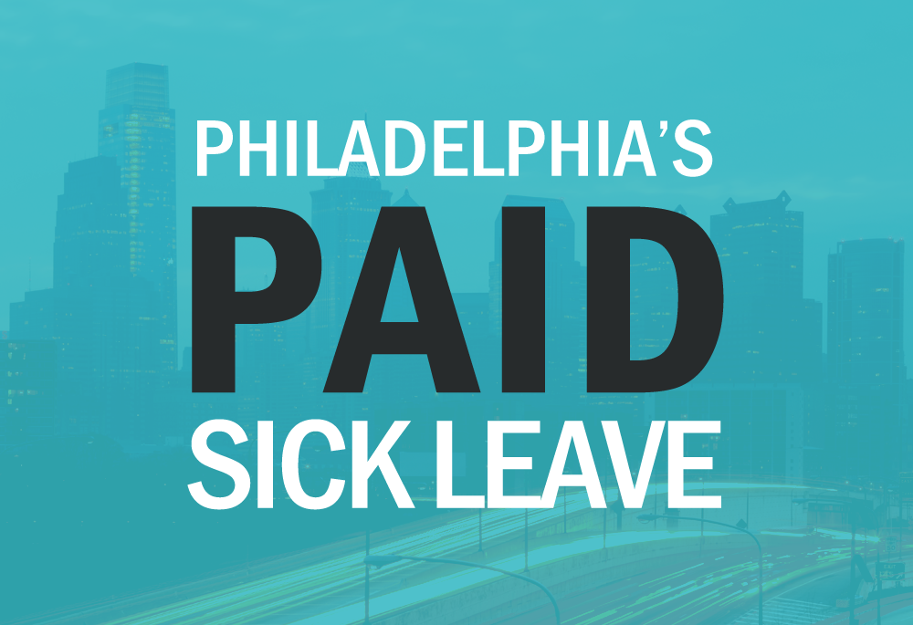 Paid Sick Leave in Philadelphia