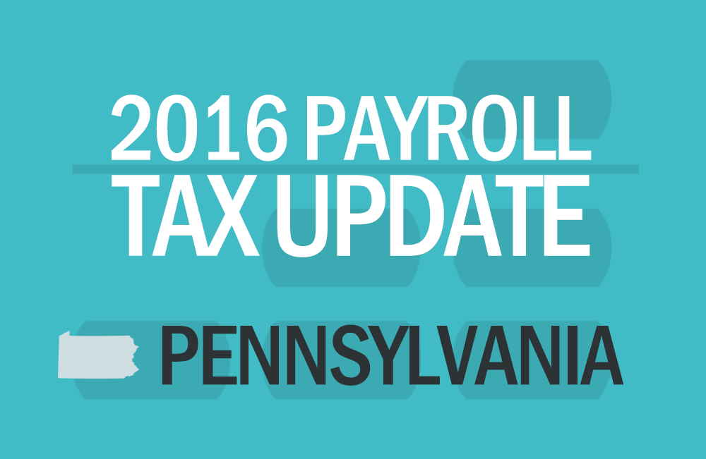 PA Payroll Tax Updates by Abacus