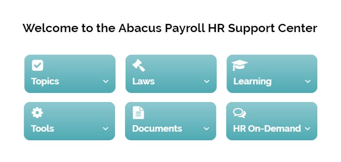 Abacus HR Dashboard