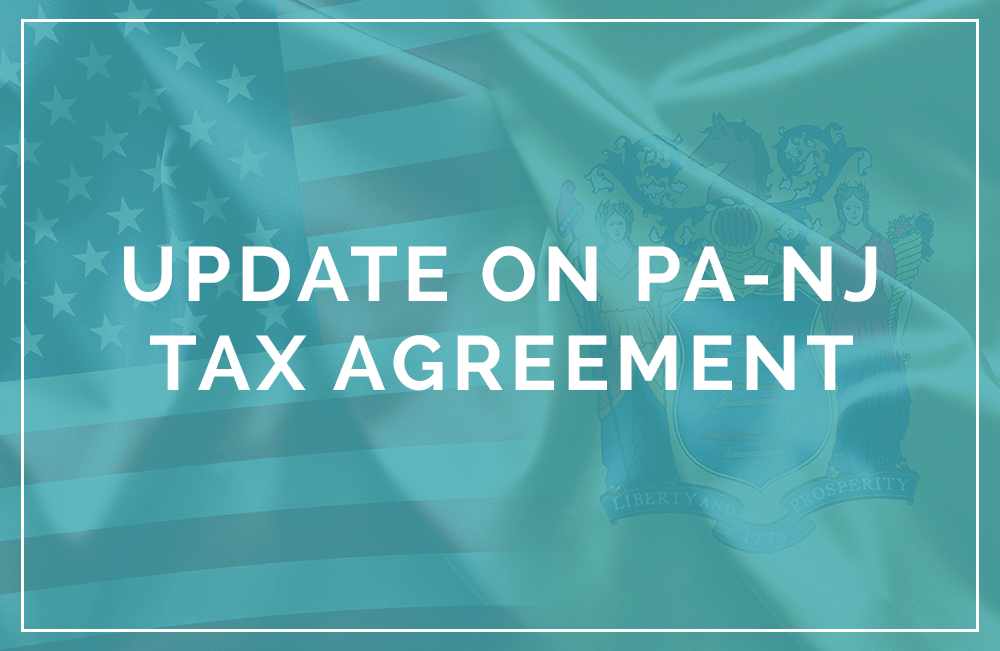 Pa NJ reciprocity tax agreement