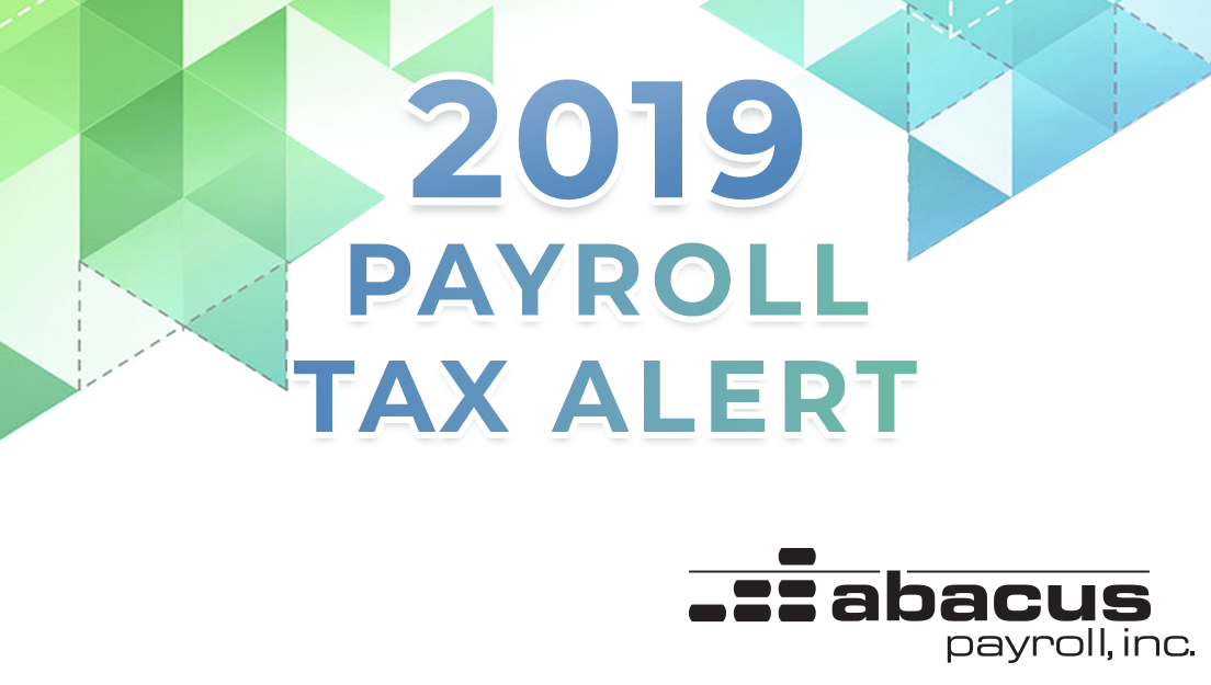 2019 Federal Payroll Tax Rates - Abacus Payroll