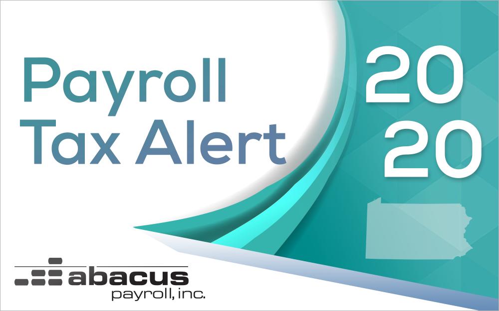 2020 payroll tax tables